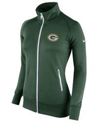 Nike Women's Green Bay Packers Stadium Track Jacket