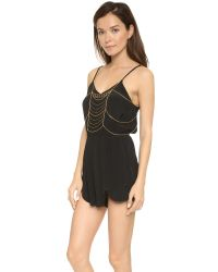 Vanessa Mooney | Metallic The Sundance Body Chain - Gold | Lyst