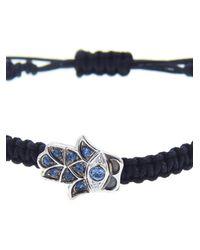 Pippo Perez | Metallic Hand Of Fatima Bracelet | Lyst