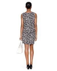 kate spade new york - Black Butterfly Double Layer Dress - Lyst