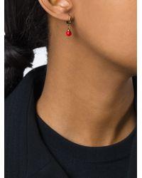 Isabel Marant | Red 'sweet Peas' Earrings | Lyst