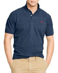 Ralph Lauren - Blue Polo Classic-fit Mesh Polo Shirt for Men - Lyst