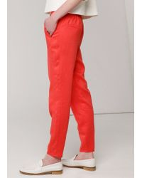Mango Tapered Trousers
