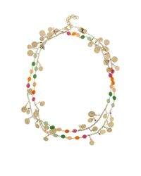 Rosantica By Michela Panero - Metallic Ii Sole Coin And Agate Necklace - Lyst