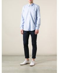 Our Legacy - Blue Ocean Print Shirt for Men - Lyst