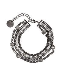 Dorothee Schumacher - Gray Radiant Double Bracelet - Lyst