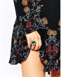Les Nereides | Multicolor Floral Ring | Lyst