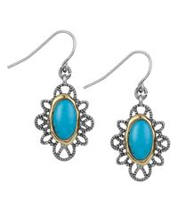 Sam Edelman | Blue Le Grand Bleu Teal Drop Earrings | Lyst