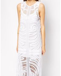 Finders Keepers - White We Are Nowhere Maxi Dress - Lyst