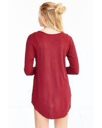 Truly Madly Deeply Red Myles Thermal Top