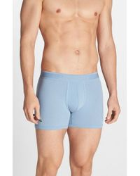 Lacoste | Blue Pique Boxer Briefs for Men | Lyst