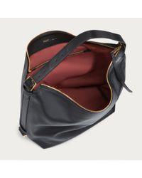 Bally Moonrise Medium Women's Leather Hobo Bag In Black