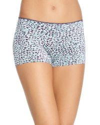 Tc Fine Intimates | Multicolor Wonderful Edge Boyshorts | Lyst
