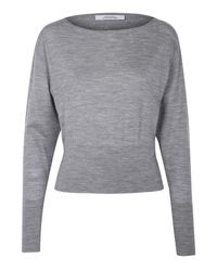 Dorothee Schumacher | Metallic Own Decision Pullover Boatneck 1/1 | Lyst