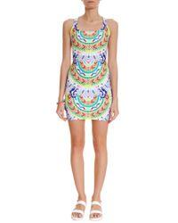 Mara Hoffman | Multicolor Jungle Print Mini Dress | Lyst