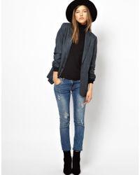 M.i.h Jeans - Blue Mens Blazer - Lyst