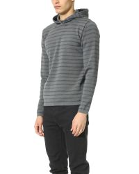 S.N.S Herning - Gray Rand Hoodie Sweater for Men - Lyst