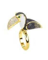 Noir Jewelry | Blue Santos Ring | Lyst