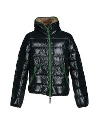 Duvetica | Blue Quilted Down Jacket for Men | Lyst