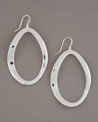 Ippolita | Metallic Scultura Oval Earrings | Lyst