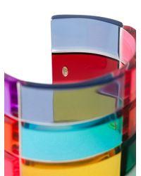 Valentino - Multicolor Rigid Cuff - Lyst