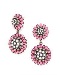 BaubleBar Pink Crystal Dandelion Drops