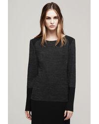 Rag & Bone - Black Aimee Sweater Dress - Lyst
