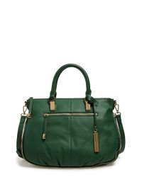 Vince Camuto | Green 'rina' Satchel | Lyst