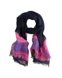 J.Crew | Pink Linen Dip-dyed Scarf | Lyst