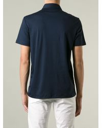 Michael Kors Blue Classic Polo Shirt for men