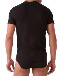 2xist | Black 3 Pack Essential V-neck T-shirt for Men | Lyst