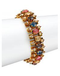 Erickson Beamon | Metallic Happily Ever After Multi-row Bracelet | Lyst