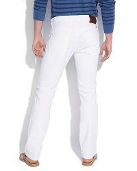Lucky Brand | White Slim 121 Heritage Slim for Men | Lyst