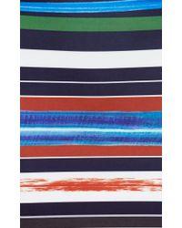 Clover Canyon - Black Painted Horizon Midi Pencil Skirt - Lyst
