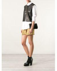 Ferragamo Black Small Bow Shoulder Bag