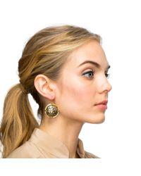 Lulu Frost - Metallic Audrey Drop Earring - Lyst