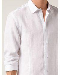 Orlebar Brown White 'morton' Shirt for men
