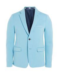 KENZO - Slim Fit Cotton Blazer - Blue for Men - Lyst