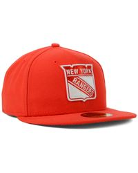 KTZ | Orange New York Rangers C-dub 59fifty Cap for Men | Lyst