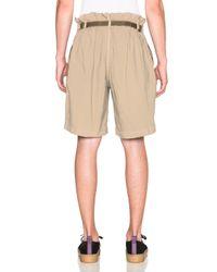 Kolor - Brown Shorts - Lyst
