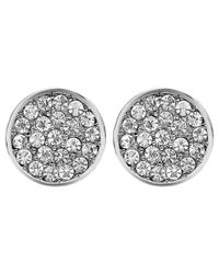 Dyrberg/Kern   Metallic Dyrberg/kern Maira Crystal Stud Earrings   Lyst