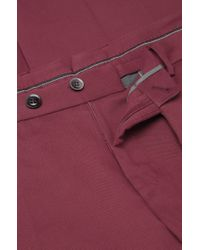 BOSS 't-gabin'   Slim Fit, Italian Cotton Textured Dress Pants for men