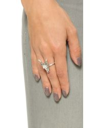 House of Harlow 1960 | Metallic Turkana Ring - Silver | Lyst
