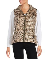 Calvin Klein Multicolor Printed Puffer Vest