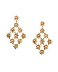 Asha | Metallic Mamounia Chandelier Earrings | Lyst