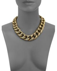 Vaubel - Metallic Chunky Chain Necklace - Lyst