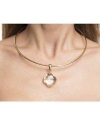 Louis Vuitton - Metallic Pre-owned Gold A La Folie Choker Necklace - Lyst
