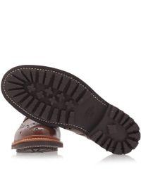 Foot The Coacher - Purple Burgundy Classic Archie Derby Shoes for Men - Lyst