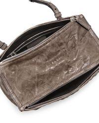 Givenchy - Brown Pepe Mini Lambskin Cross-Body Bag - Lyst