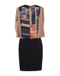 Hanita - Black Knee-length Dress - Lyst